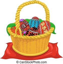 eier, ostern, abbildung