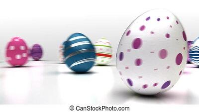 eier, ostern, tanzen