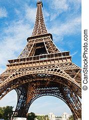 eiffel, башня, -, париж