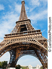 eiffel ohromný, -, paříž