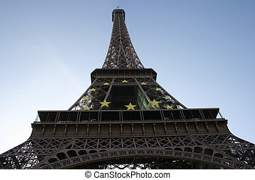 eiffel, paris, tour