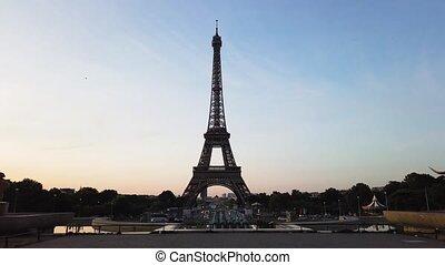 eiffel tour and from Trocadero, Paris - Paris Eiffel Tower ...