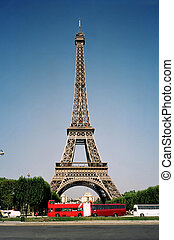 Eiffel Tower 02 - How the Eiffel Tower is made.