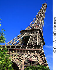 eiffel tower - Eiffel  Tower, Paris, France