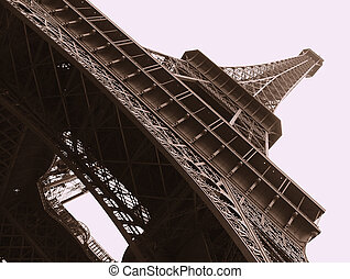 Eiffel Tower - Eiffel tower tracery