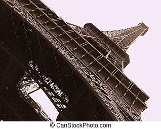 Eiffel Tower - Eiffel tower tracery