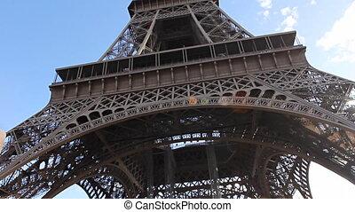 Eiffel Tower from below. v.2