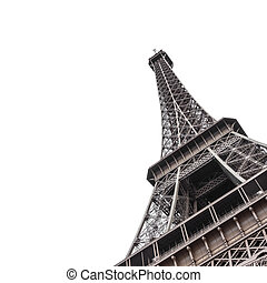 Eiffel Tower from bottom