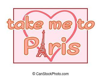 Eiffel Tower heart t shirt
