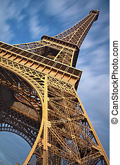 Eiffel Tower. - Image of Eiffel Tower in Paris, France.