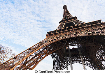 Eiffel tower in Paris
