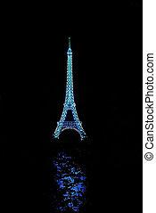 Eiffel Tower Lantern - Eiffel Tower at the Toronto Chinese...