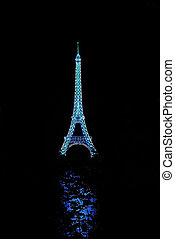 Eiffel Tower Lantern - Eiffel Tower at the Toronto Chinese...