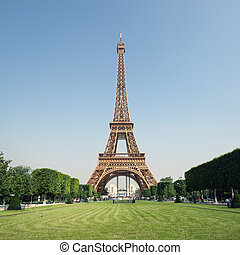 Eiffel Tower, Paris - France.