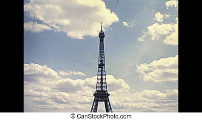Eiffel Tower Paris - Paris Eiffel Tower panorama from Palais...
