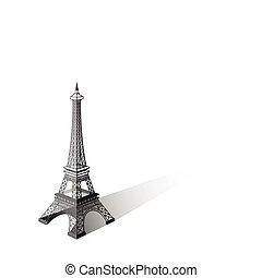Eiffel tower vector illustration ,Paris. Icon design
