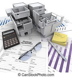 eigendom, investering, proces