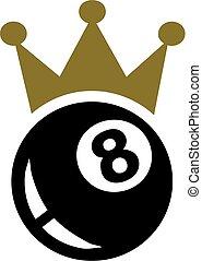 Eight Ball Pool Crown