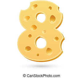 Eight cheese number