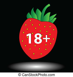 Eighteen plus icon