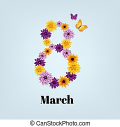 Eighth March Card