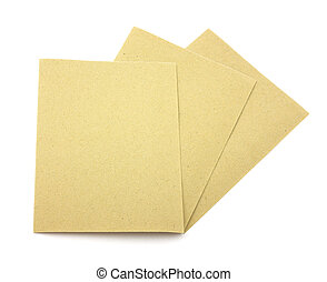 Eighty grit sandpaper - Three sheets of eighty grit...