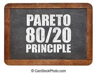 eighty-twenty, principe, pareto, règle