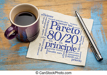eighty-twenty, principe, pareto, regel