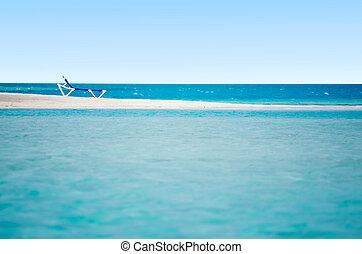 eiland, arutanga, aitutaki, lagune, koken eilanden, landscape