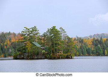 eiland, cabine