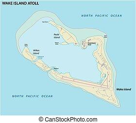 eiland, staten, kaart, atol, ongeorganiseerd, gebied,...