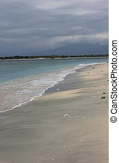 eilanden, strand, gili