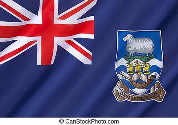 eilanden, vlag, falkland