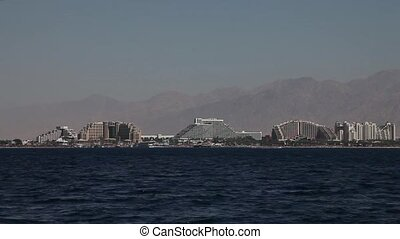 Eilat, Israel - Eilat. Located at the northern tip of the...