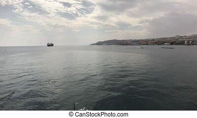 Eilat, Israel - Walking on the Red Sea part 13 4K
