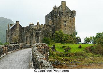 Eilean Donan castle panorama, Scotland