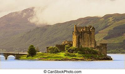 Eilean Donan Castle - Large, accessible, restored castle...