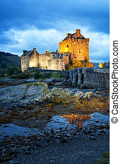 eilean donan, escocia, castillo