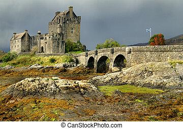 eileen, castillo, escocia, donan