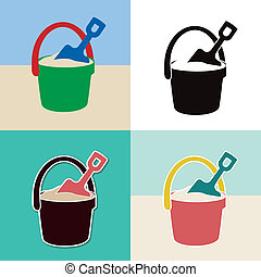 sandkasten clipart vektor grafiken sandkasten eps clip art vektor und stock. Black Bedroom Furniture Sets. Home Design Ideas