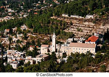 Ein Karem Village in Jerusalem Israel - Ein Karem Village in...
