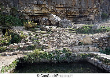Ein Limon spring near Jerusalem in Israel...