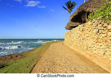 Kuba - ein weg auf Kuba