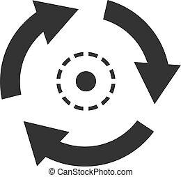 einfache , consistent, abbildung, vektor, ikone, design.