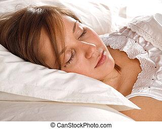 eingeschlafen
