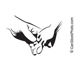 einheit, hand
