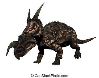einiosaurus dinosaur - 3d render