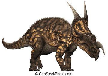 Einiosaurus Dinosaur Grazing - nature, eating, cutout,...