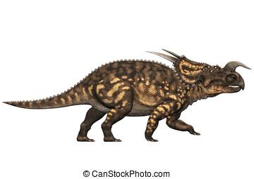 Einiosaurus Dinosaur Walking