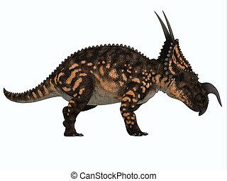 Einiosaurus Side Profile